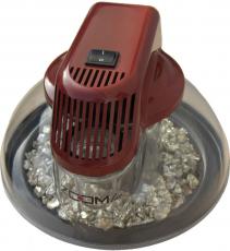 2 x ZOOMLus BIO Luftreiniger  Oxidrot Luftwäscher Air Cleaner