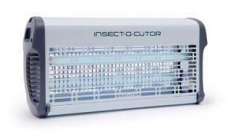 EXOCUTOR 30 Watt  Stromgitter UV Insektenvernichter Metall weiss