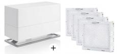 Stadler Form Luftbefeuchter Oskar Big weiß + 4 Filterkassetten