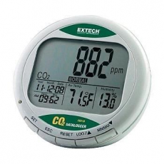 extech co 2 messger t monitor datenlogger greentronic. Black Bedroom Furniture Sets. Home Design Ideas