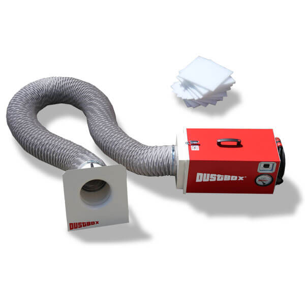 DustBox 1000 Hochleistungs-Luftreiniger H14 als Plus-Paket