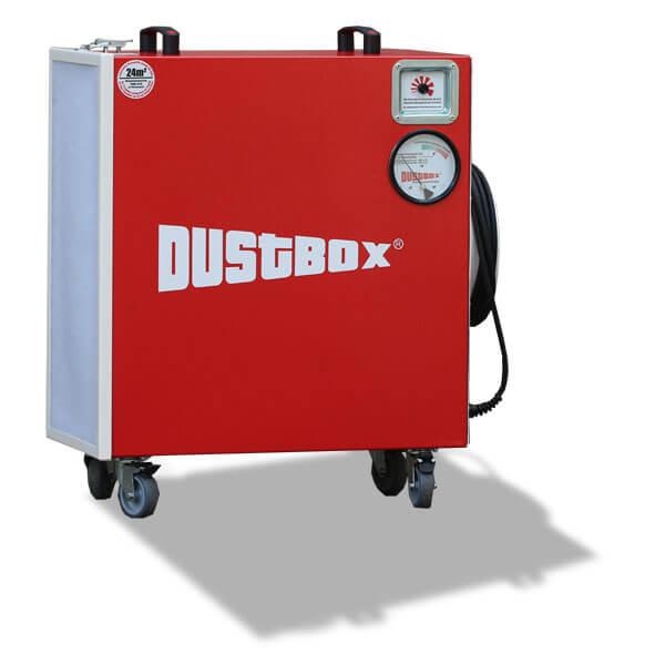 DustBox 2000 VSC Hochleistungs-Luftreiniger H14