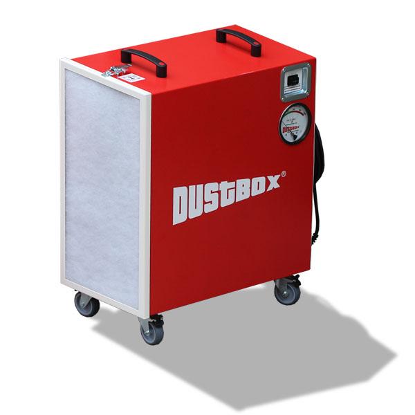 DustBox 2000 Hochleistungs-Luftreiniger H14
