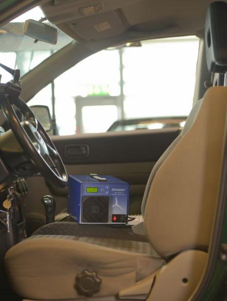 airmaster digital blc 500 d ozongenerator luftreiniger. Black Bedroom Furniture Sets. Home Design Ideas