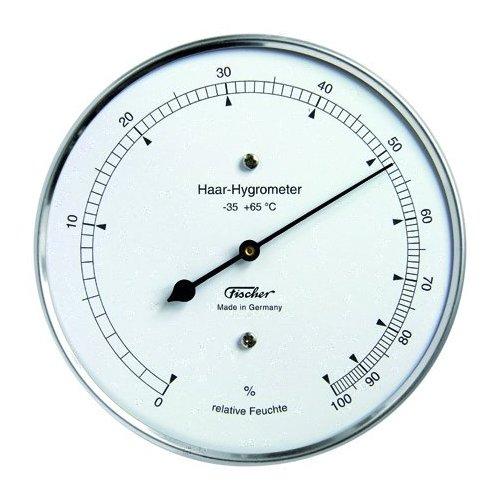 fischer analog echthaar hygrometer feuchtigkeitsmesser. Black Bedroom Furniture Sets. Home Design Ideas