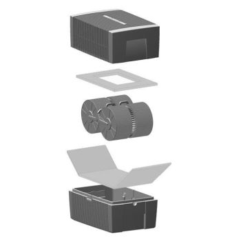 venta luftbefeuchter luftw scher lw15 anthrazit metallic greentronic luftreiniger. Black Bedroom Furniture Sets. Home Design Ideas