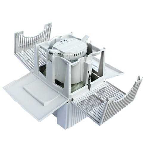 venta luftbefeuchter luftw scher lw15 weiss grau. Black Bedroom Furniture Sets. Home Design Ideas