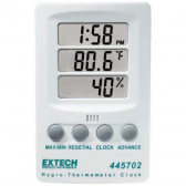 EXTECH 445702 Hygro-Thermometer Clock