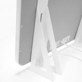 VASNER Standfüße Citara Glas & Metall & Citara Metall Plus weiß