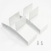VASNER Standfüße Hybrid-Infrarotheizung Konvi u.Konvi Plus weiß