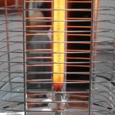 VASNER Infrarot 25R-CarbonStand-Heizstrahler ohneAirCape schwarz