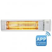 VASNER Premium Infrarot-Heizstrahler Appino 20 weiß 2000W+App
