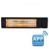 VASNER Premium Infrarot-Heizstrahler Appino 20 schwarz 2000W+App