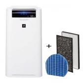 Sharp KC-G40EUW Luftreiniger+Befeuchter weiß + Ersatz-Filter-Set