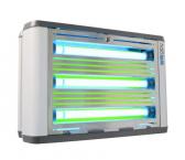 halo 2x 45 Aqua IP45 UV-Insektenvernichter Edelstahl 240qm