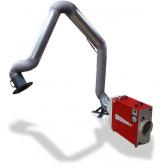 Absaugarm mit Bodenstandsvorrichtung für DustBox 1000 Hochleistungs-Luftreiniger H14
