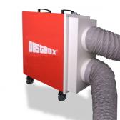 Doppel-Ansaugadapter (2x200mm) für DustBox 2000 Hochleistungs-Luftreiniger H14