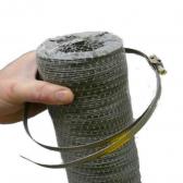 Ecor flexibeler Schlauch 80 mm Durchmesser und 3 Meter Länge