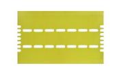 Flytrap 40/80 GLUPAC Haftklebefolien INF 061 - 6-er Pack-gelb