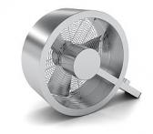 Stadler Form Ventilator Q metal Bodenventilator