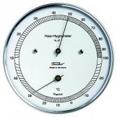 Fischer Analog Haar- Hygrometer mit Thermometer