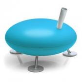 Stadler Form Fred Verdampfer Luftbefeuchter azzurro