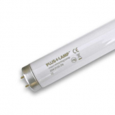 PlusLamp UV-Röhre 18 Watt gerade 600mm Leuchtstoffröhre