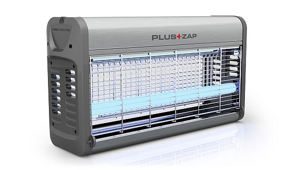 PlusZap 16 Watt Stromgitter UV Insektenvernichter Aluminium online kaufen