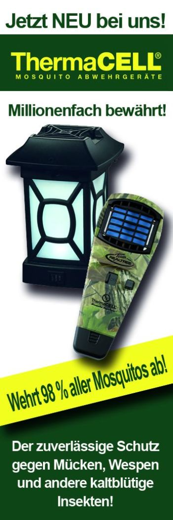 ThermaCELL Mückenabwehr LED-Laterne MR9W schwarz Veranda-Laterne kaufen
