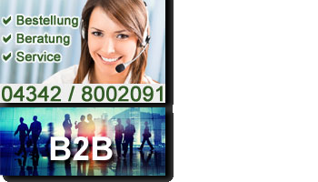 Beratung, Bestellung, Service: 04342 8002091